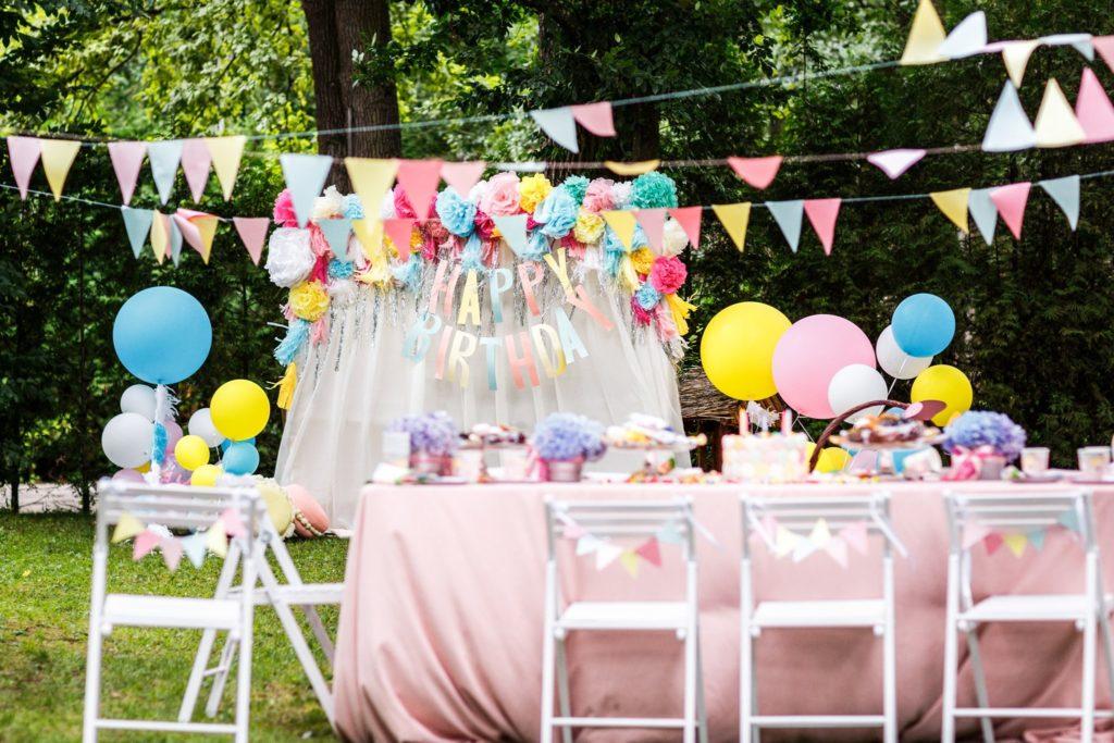 fête d'anniversaire enfant